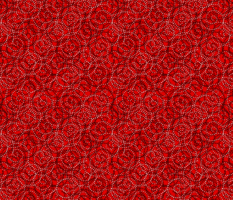 gypsy_swirls_red fabric by glimmericks on Spoonflower - custom fabric