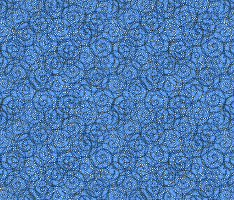 gypsy_swirls_skyblue fabric by glimmericks on Spoonflower - custom fabric