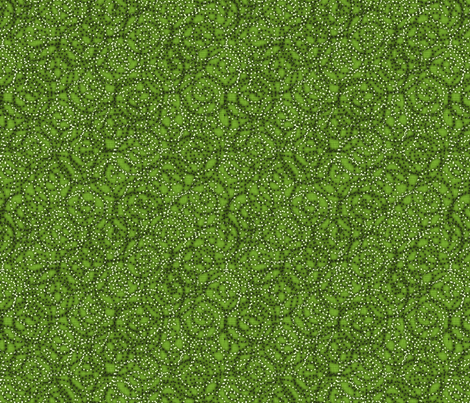 gypsy_swirls_grass fabric by glimmericks on Spoonflower - custom fabric