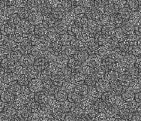 gypsy_swirls_gray fabric by glimmericks on Spoonflower - custom fabric