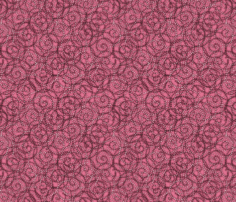 gypsy_swirls_rose fabric by glimmericks on Spoonflower - custom fabric