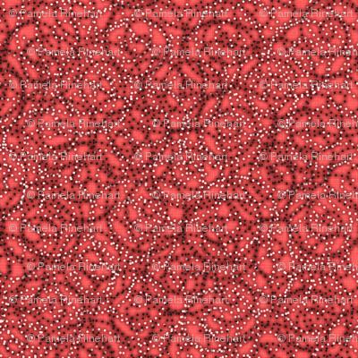 gypsy swirls coral