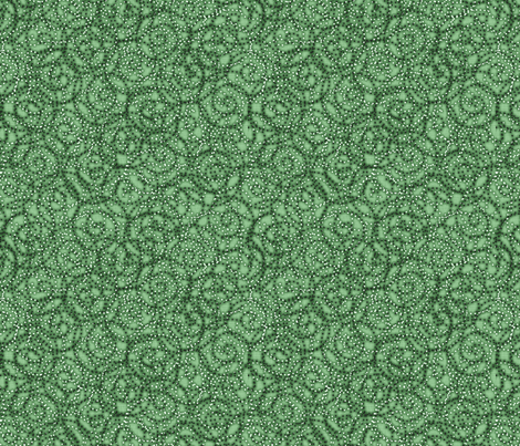 gypsy_swirls_mint fabric by glimmericks on Spoonflower - custom fabric
