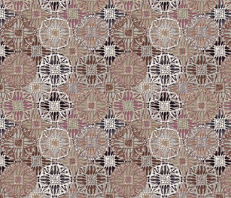 patchwork_gypsy forest berries fabric by glimmericks on Spoonflower - custom fabric