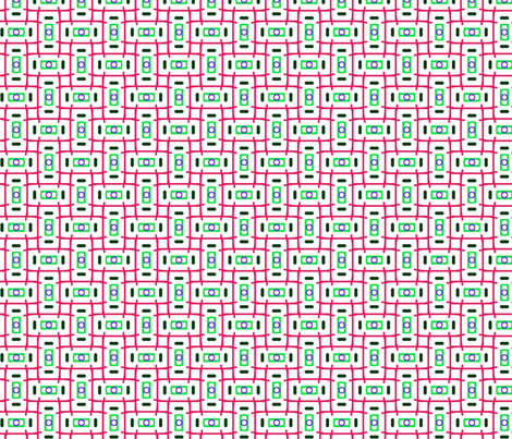 Retro Primary fabric by loriww on Spoonflower - custom fabric