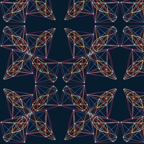 string_art fabric by glimmericks on Spoonflower - custom fabric
