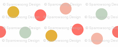 Carnival Scatter Dots in Summer Brights