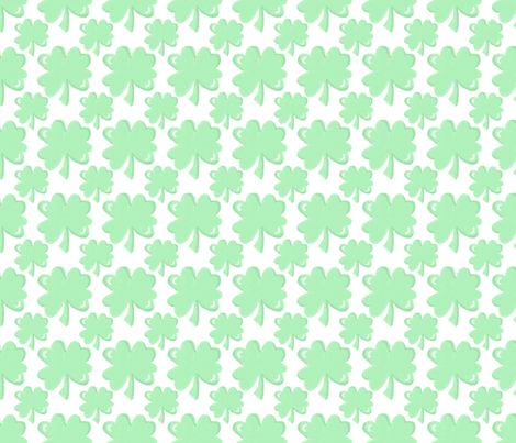 shamrocks fabric by kategabrielle on Spoonflower - custom fabric