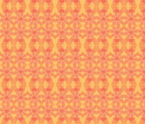 Radiant Beauty fabric by katiame on Spoonflower - custom fabric