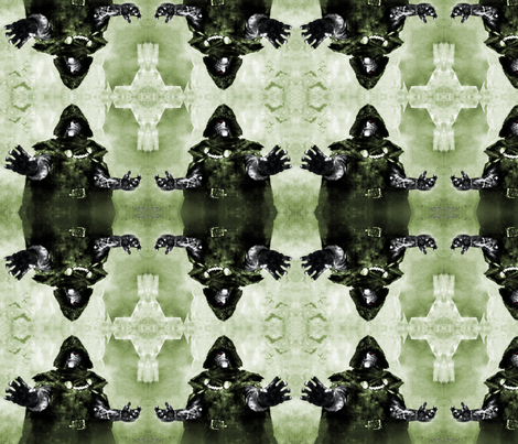 Doctor Doom fabric by stephanieseigle on Spoonflower - custom fabric