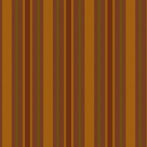 Red and Gold Stripes Country Prim