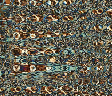 """Tiki Tiki"" fabric by jeanfogelberg on Spoonflower - custom fabric"