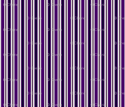 Country Prim Stripes in Purple