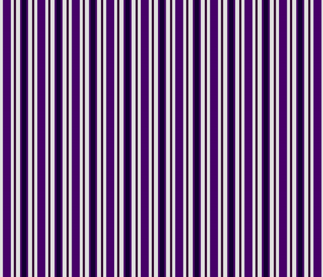 Country Prim Stripes in Purple fabric by cherie on Spoonflower - custom fabric