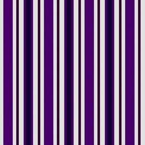 Country Prim Stripes in Purple