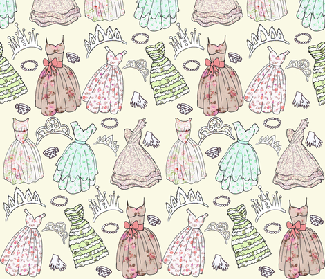 Her Majesty fabric by graceful on Spoonflower - custom fabric