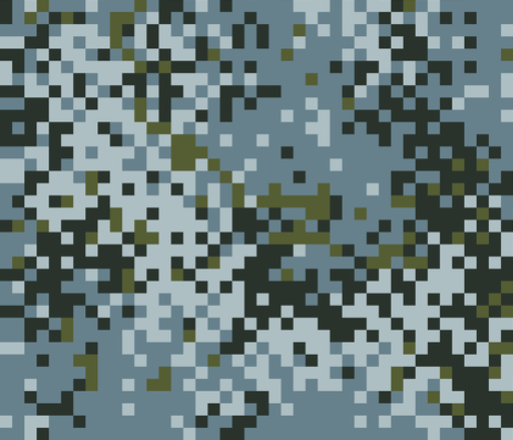 Latvian Urban Digital Camo fabric by ricraynor on Spoonflower - custom fabric