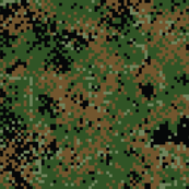 Latvian Woodland Digital Camo