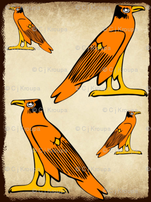 Egyptian Falcon (Brown)