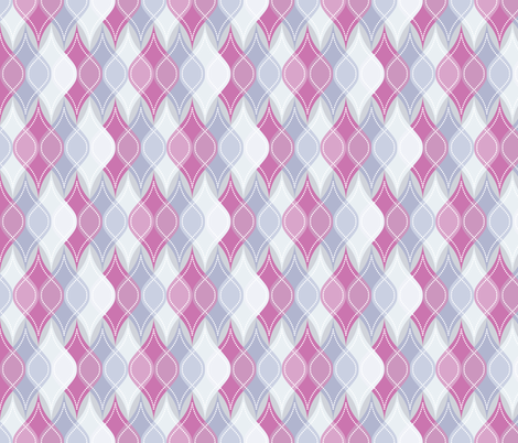 Purple Baubles fabric by robyriker on Spoonflower - custom fabric