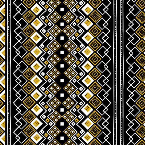 Medallion Tribal fabric by neverwhere on Spoonflower - custom fabric