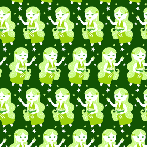 Virgo fabric by siya on Spoonflower - custom fabric