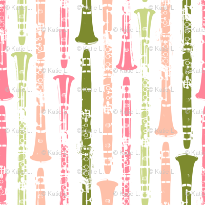 Grunge Clarinets - Shades of Watermelon