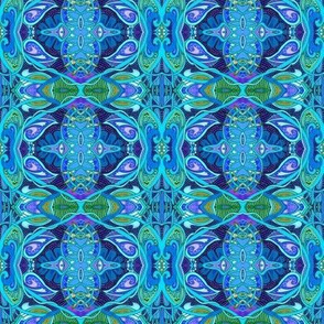 Psychedelic Electric Blue For You