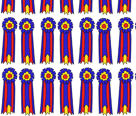 Champion Ribbon fabric by ragan on Spoonflower - custom fabric