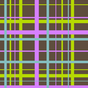 Plaid for funky ribbons