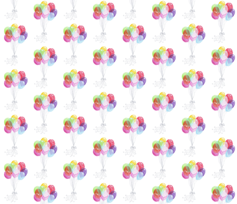 Balloons fabric by graceful on Spoonflower - custom fabric