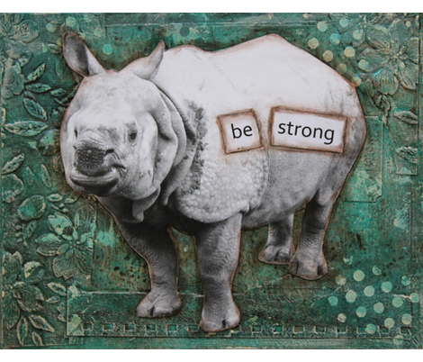 Strong Rhino fabric by carmen_mccullough on Spoonflower - custom fabric