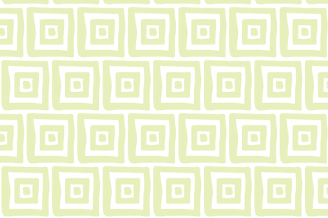 Retro Wonky Square (lt. lime) fabric by pattyryboltdesigns on Spoonflower - custom fabric