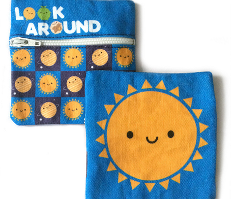 Kawaii Sun Coin Purse - Cut & Sew Pattern