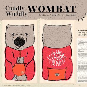 Cuddly Wuddly Wombat