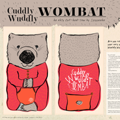 Cuddly Wuddly Wombat