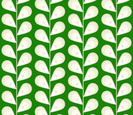 leaves fabric by mgterry on Spoonflower - custom fabric