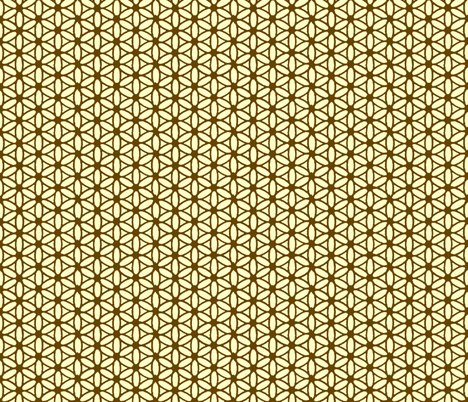 Flower of Life Natural fabric by leahvanlutz on Spoonflower - custom fabric