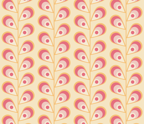 leavessherbert fabric by mgterry on Spoonflower - custom fabric