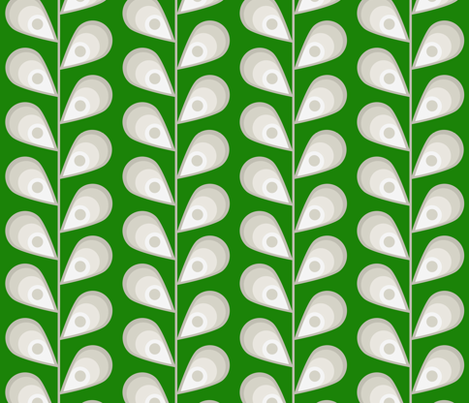 leavesgreen fabric by mgterry on Spoonflower - custom fabric