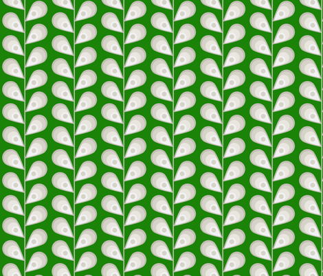 leavesgreen-small fabric by mgterry on Spoonflower - custom fabric