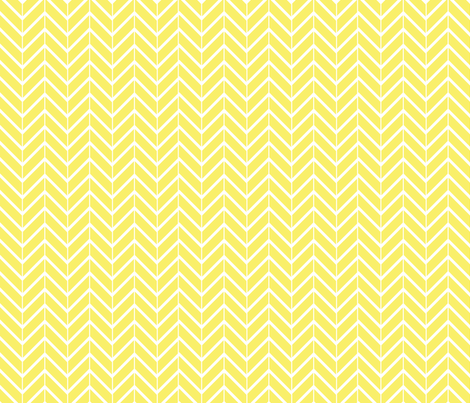 YellowChevron fabric by abergen on Spoonflower - custom fabric