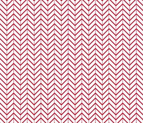 RedChevron fabric by abergen on Spoonflower - custom fabric