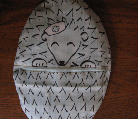 Hedgehog Warmable Pillow Cover