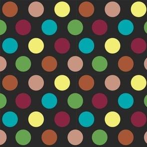 Multi Dots Black