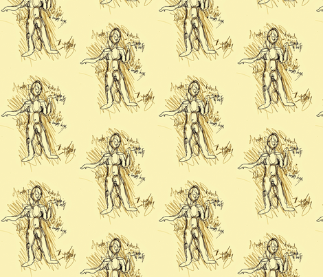 Average Sketch fabric by sissysoo on Spoonflower - custom fabric