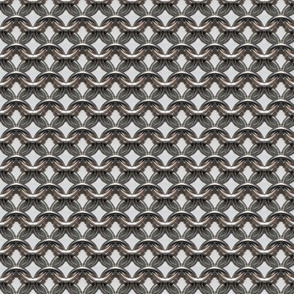 "Chainmaille - (1"") White Background"