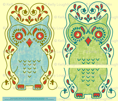 Owl Nice and Warm Critter Pillow Slipcover