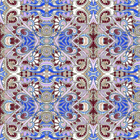 Traditional Colonial with a Half Twist fabric by edsel2084 on Spoonflower - custom fabric
