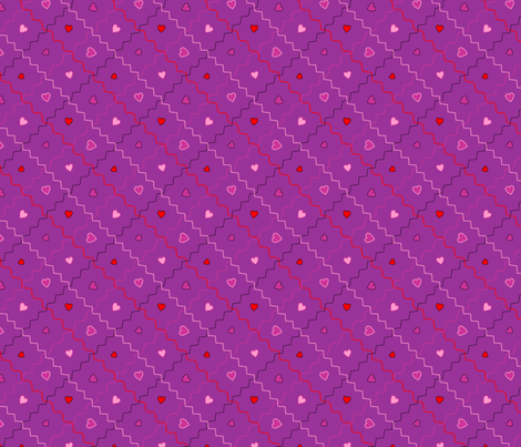 V Day Print fabric by ronnyjohnson on Spoonflower - custom fabric